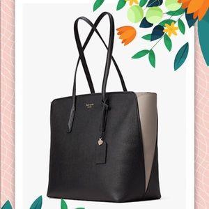 NWT Kate Spade Black Margaux Large Tote Bag